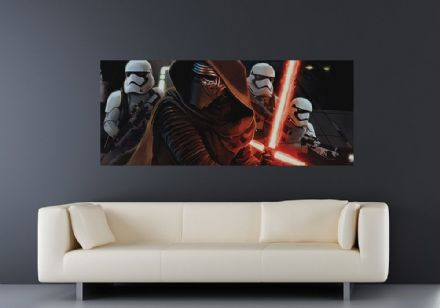 Panoramic wallpaper mural Force Awakens